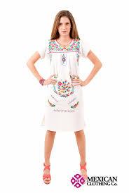 women u0027s puebla peasant mexican dress
