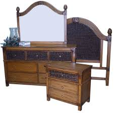 beachwood rattan antique bedroom suite from summit design