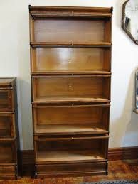 Macey Barrister Bookcase Quartersawn Oak Macey 5 Stack Barrister Lawyer Bookcase From