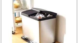 kitchen bin ideas what the best stainless steel rectangular recycling kitchen bin