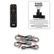 amazon com acoustic audio aa5103 5 1 surround sound home