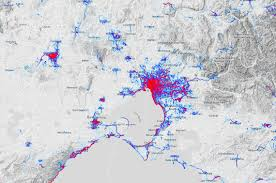 Mapping Running Routes by Melbourne U0027s Dedicated Running And Cycling Paths Are The Most