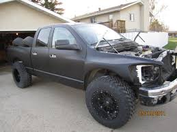 3rd generation dodge ram prerunner starting out 3rd conversion with 37 dish