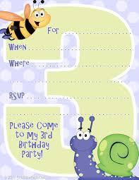 children u0027s birthday party invitation templates alanarasbach com