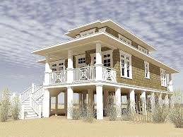 coastal plans very attractive 11 cottage plans on pilings beach house coastal home