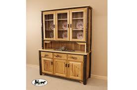 Kitchen Hutch Furniture Amish Made And Adirondack Hutches And Buffets New York