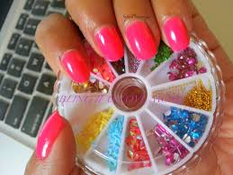 superprincessjo bright neon pink nail polish three beauties neon