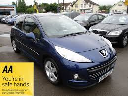 blue peugeot for sale used blue peugeot 207 for sale glamorgan