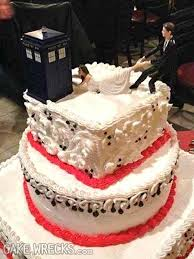 dr who wedding cake topper cake wrecks home embrace your geekness day