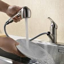 Hands Free Kitchen Faucet Kingo Home Modern Brushed Nickel Single Handle Stainless Steel