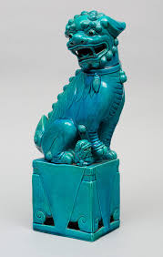 turquoise foo dogs for sale large turquoise foo dog