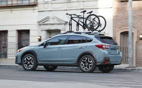 blue subaru crosstrek 2019 subaru crosstrek on road in city 4k hd wallpaper latest