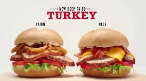 arby s fried turkey tv commercial team ispot tv