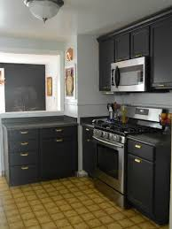 Small Kitchen Painting Ideas by Small Kitchens With Dark Cabinets Strikingly Design Ideas 21