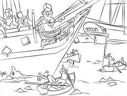 Boston Tea Party Coloring Page Free Printable Coloring Pages Yankee Doodle Coloring Page 2