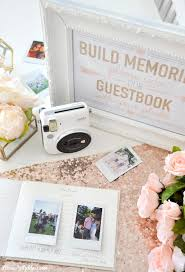 bridal shower guestbook kara s party ideas instax photo guestbook for your wedding or