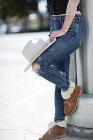 lace up moto boots ugg boots are back with a street style makeover my boring closet
