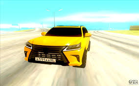 lexus yellow lexus lx 570 for gta san andreas