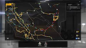 Truck Route Maps Off Road For American Truck Simulator