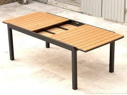 table cuisine en bois table bois picnic finest beautiful affordable pin table carr