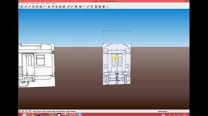 exporting sketchup models to 3dsmax for use in train simulator