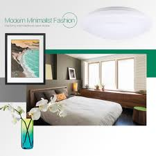 us stock 18w round led ceiling light 1600 lumens 7000k for indoor