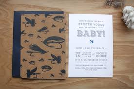 fishing themed baby shower kristen s fly fishing inspired baby shower invitations