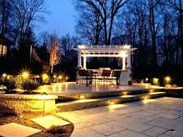led landscape lighting ideas minimalist outdoor solar lighting ideas image of best landscape
