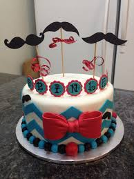 mustache birthday cake birthday cakes for mustache and candy themed