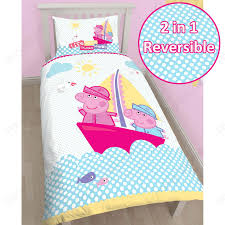 Peppa Pig Toddler Bed Set Peppa Pig Duvet Cover Sets Junior Single Brand New