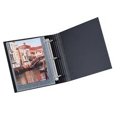 4x6 photo pages for 3 ring binder photo card storage pages the container store