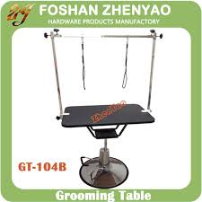 diy dog grooming table portable dog grooming table pine fiber mdf board non skid rubber mat