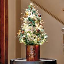 ideas to decorate tabletop trees modern home interiors