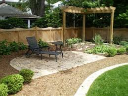 Beautiful Minimalist Backyard Landscaping Design Ideas On A - Backyard landscape design ideas on a budget