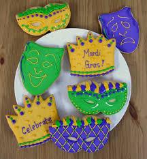 mardi gras cookies mardi gras cookies party favors