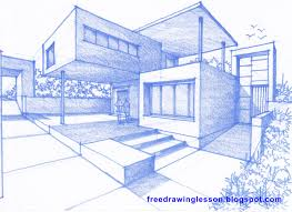drawing a house how to draw a house san francisco chronicle freedrawinglesson