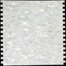 mother of pearl tile kitchen backsplash mop007 brick sea shell