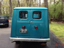 jeep sedan willys jeep sedan delivery wagon 2 wheel drive