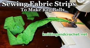 Crochet Rugs With Fabric Strips How To Make A Rag Ball U2013 Knitting And Crochet
