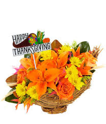 happy thanksgiving harvest cornucopia at from you flowers