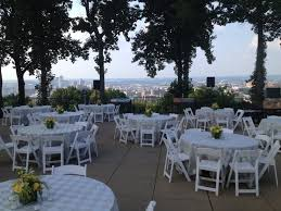 cheap wedding venues in alabama reception on the city overlook at vulcan park and museum