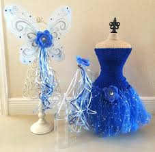 Halloween Costume Fairy Wings Blue Fairy Costume Blue Wings Tinkerbell Fairy Partiesandfun