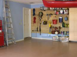 Laminate Flooring In Garage How To Install Slatwall How Tos Diy