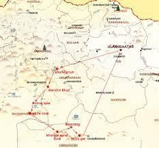 World Deserts Map by Gobi Desert Tour Mongolia