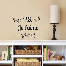 wall decals stickers muraux pour chambre sticker je t aime