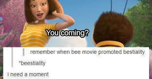 Bee Movie Meme - the 12 most wtf tumblr posts about bee movie dorkly post