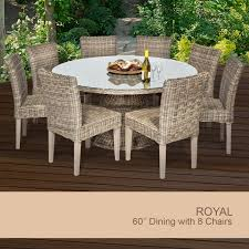 outdoor dining set for 8 wicker outdoor dining set