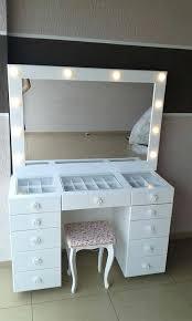 makeup dressers makeup dressers vanity vanity mirror with lights for bathroom and