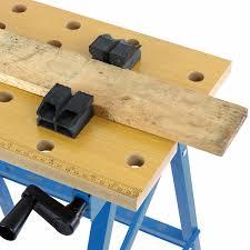hardcastle folding trestle work bench stand mate foldable table