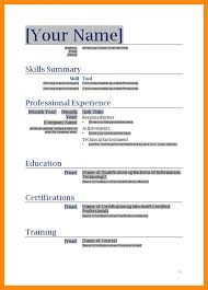 resume format in word doc 8 resume sles word doc manager resume